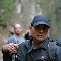 Ajay Kumar, hike organizer and guide